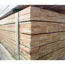 Gyalult élgömbölyített szárított deszka  AB, északi borovi, 20x146x4000