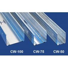Függőleges falvázprofil - 0,5 mm CW50 - 2,75 fm/db
