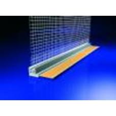 Hálós ablakcsatlakozó profil - 2,4 fm/db