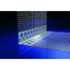 Hálós alumínium élvédő profil - 10 x 10 cm - 2,5 fm/db