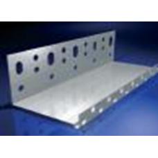 Alu lábazati indító profil - 1 x 230 mm - 2,5 fm/db