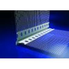 Látszó élű hálós vízorros profil - 2,5 fm/db