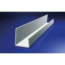J-PVC szegőprofil 12,5 mm gipszkartonhoz - 3 fm/db