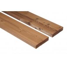 Thermowood teraszburkoló, (hőkezelt) A+, D4 profil, borovi fenyő, 20x115mm