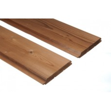 Thermowood falburkolat trapéz B min  19*140*3900,4200,4500mm