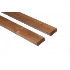 Thermowood fenyő rombusz profilú árnyékoló, 26×68, 'A'