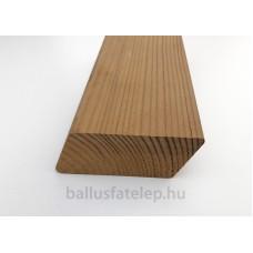 """Thermowood falburkolat fenyő rombusz profilú 26 x 68 """"A""""  4200mm"""
