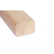 Vörösfenyő párnafa, szerkezetifa (teraszburkolóhoz ) 46x46mm